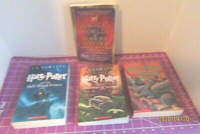 LOT OF 4 SOFTBACK HARRY POTTER BOOKS
