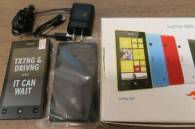 Nokia Lumia 520 8GB Black (AT&T) new other in box clean