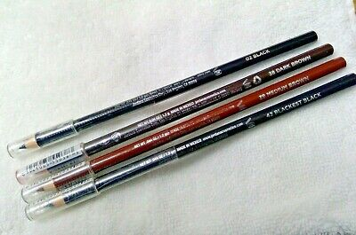 Jordana Best Liner for Brows and Eyes Black or brown Eyeliner Pencil 4
