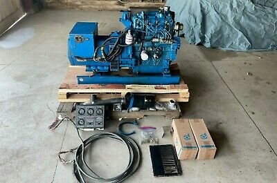 Northern Lights Nl844l 844 Diesel 20 Kw Generator W Control Panel Nice