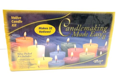 Candle Making Yaley Candle Made Easy II Votive Candle Kit Makes 32 Candles
