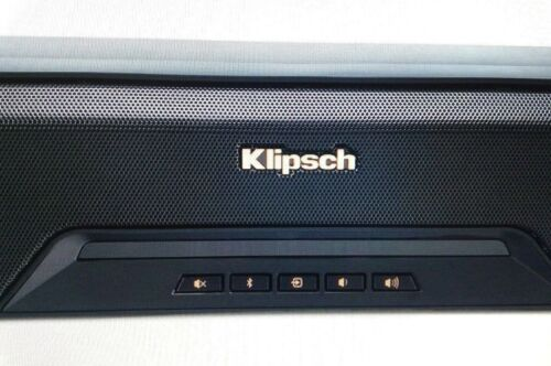 """Klipsch Reference Series 2.1-Channel Soundbar System with 8"""" Wireless Subwoofer and Digital Amplifier Black RSB-11"""