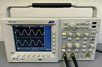 Tektronix Tds3052c Digital Phosphor Oscilloscope 500mhz 2ch