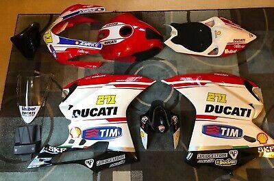 DUCATI 1299 Panigale Racing FULL BODY KIT Fiberglass Fairings - Used