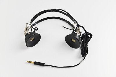 Vintage Telephonics Tdh 39 Aircrew Headset 300 Ohms Caatc No Ir6 5