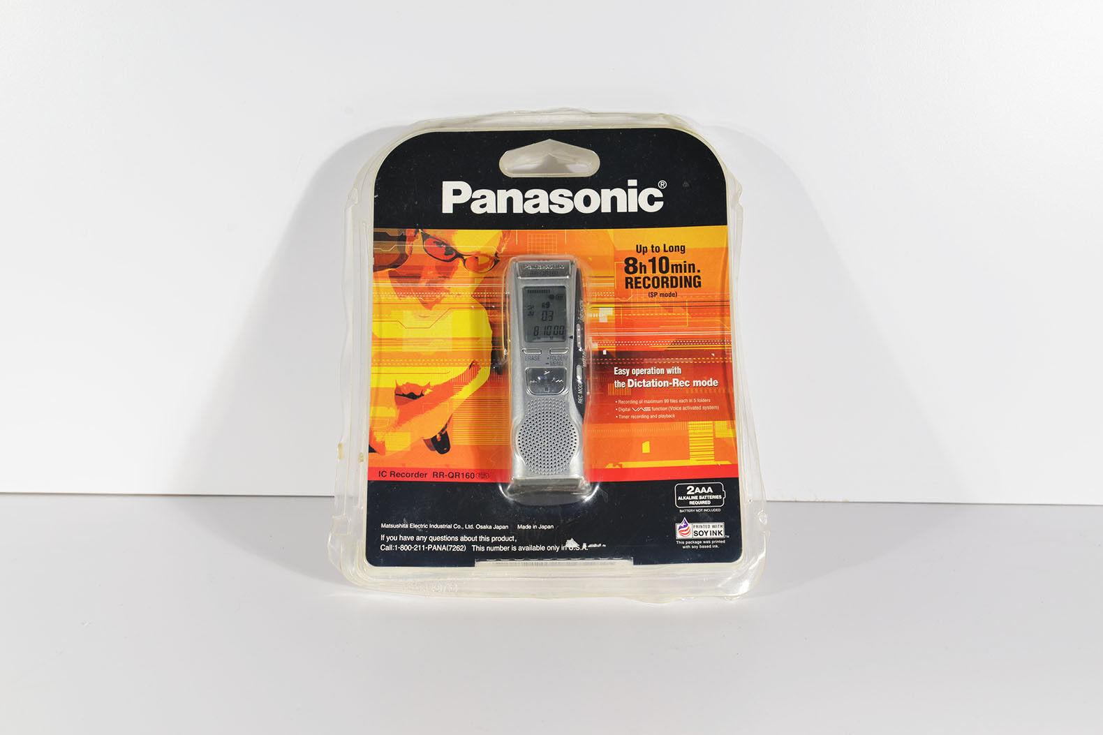 Panasonic RR-QR160 IC Recorder Silver