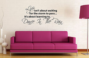 LIFE-ISNT-ABOUT-WAITING-Inspirational-Decal-Wall-Decor-Quote-Vinyl-Sticker-Art