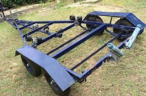 Dual axle tandem boat trailer Inala Brisbane South West Preview
