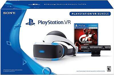 Sony PlayStation VR Headset Gran Turismo Play Bundle