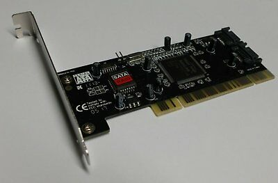 PCI Controller 2port SATA mit RAID 0,1 #d849