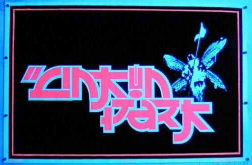 """Linkin Park Asian Inspired Flocked Blacklight 23.25""""x35.50"""" Poster NOS (b7)"""