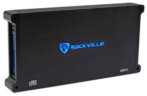 Rockville dB15 6000 Watt/3000w RMS Mono Class D 2 Ohm Amplif