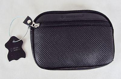 Samsonite Leather Non-Slip Wallet ~2 Zippered Pockets & ID Window NEW #6340010