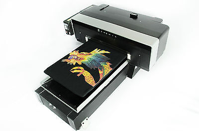 Dtg Direct To Garment T-shirt Personal Diy Printer Build Video Software Pdf
