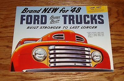 Ford Light Duty Truck (1948 Ford Light Duty Truck F1 F2 F3 F4 Sales Brochure 48)