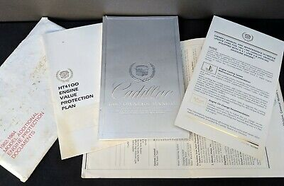 1982 Cadillac Owner Manual V8 High Technology Engine Fleetwood Coupe De Ville