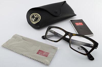 RAY-BAN Brille RB 5316 2012 T 53[]16 140 Square Eyeglasses Frame Tortoise +Case