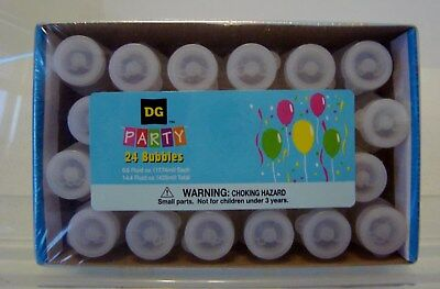 1 @24  PACK OF .6 FL. OZ BOTTLES OF  PARTY BUBBLES-G47