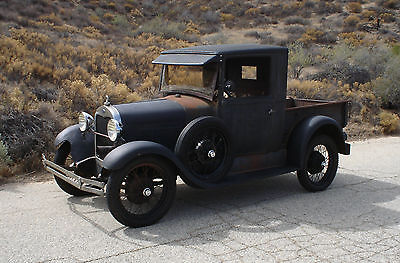 1929 Ford Model A Pick Up Truck Unrestored Calif. Barn Find, Daily Driver BANGER