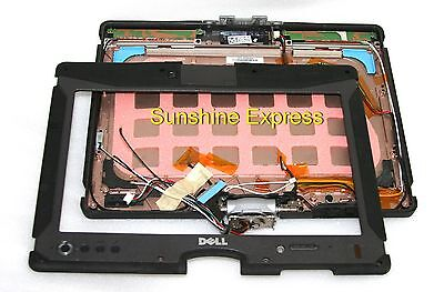 Dell Latitude E6500 LCD Lid Back Cover Panel WIFI Cables CN-0G068P G068P