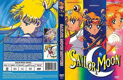 Sailor Moon Movie Trilogy Collection All 3 Movies In English Audio   Free Ship
