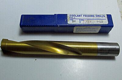 """New CJT Kool Twist Carbide Tipped Coolant Feeding Drill Bit Size 7//16/"""""""