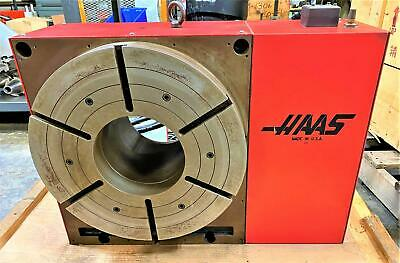 Haas Hrt450 4th-axis Rotary Table With Controller