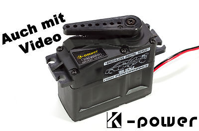 K-Power DM4000 BigScale Servo 54kg-cm/0,11 s/6 Volt bis 8,4 Volt - big scale