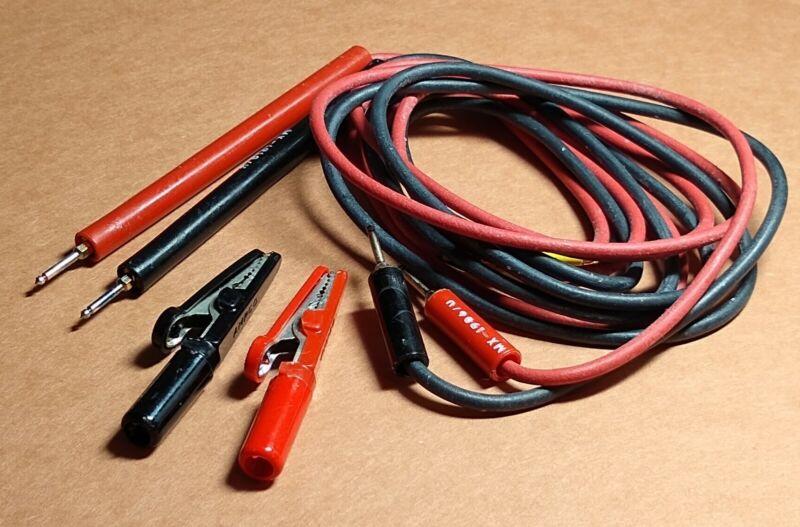 CX-1331/U Lead Set, Test TS-352B/U, TS-297/U Military Multimeter - Pin Tips, NOS