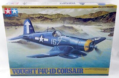 1/48 Scale Vought F4U-1D Corsair Model Aircraft Kit Tamiya 61061*2500