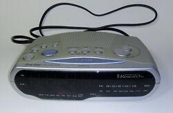 Emerson Research SmartSet AM-FM 2-Alarm Clock Radio LED CKS1850 *no batt backup*