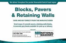 Concrete Blocks, Pavers, & Retaining Wall Blocks Toronto Lake Macquarie Area Preview