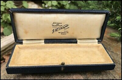 Antique Vintage 1920s JM Dempster Sydney George St Jewellery Display Box