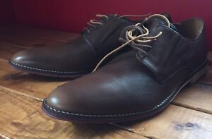 Men's Leather Hush Puppies Oxford (size 12)