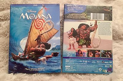 Moana Dvd   New Release  Disney  2017  Family Fun  Brand New  Free Shipping