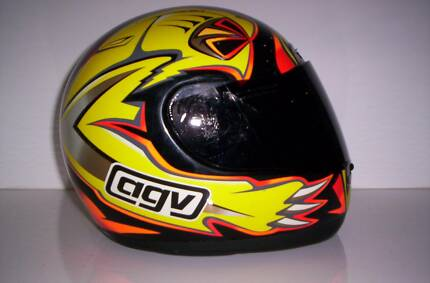 agv helmet max biaggi