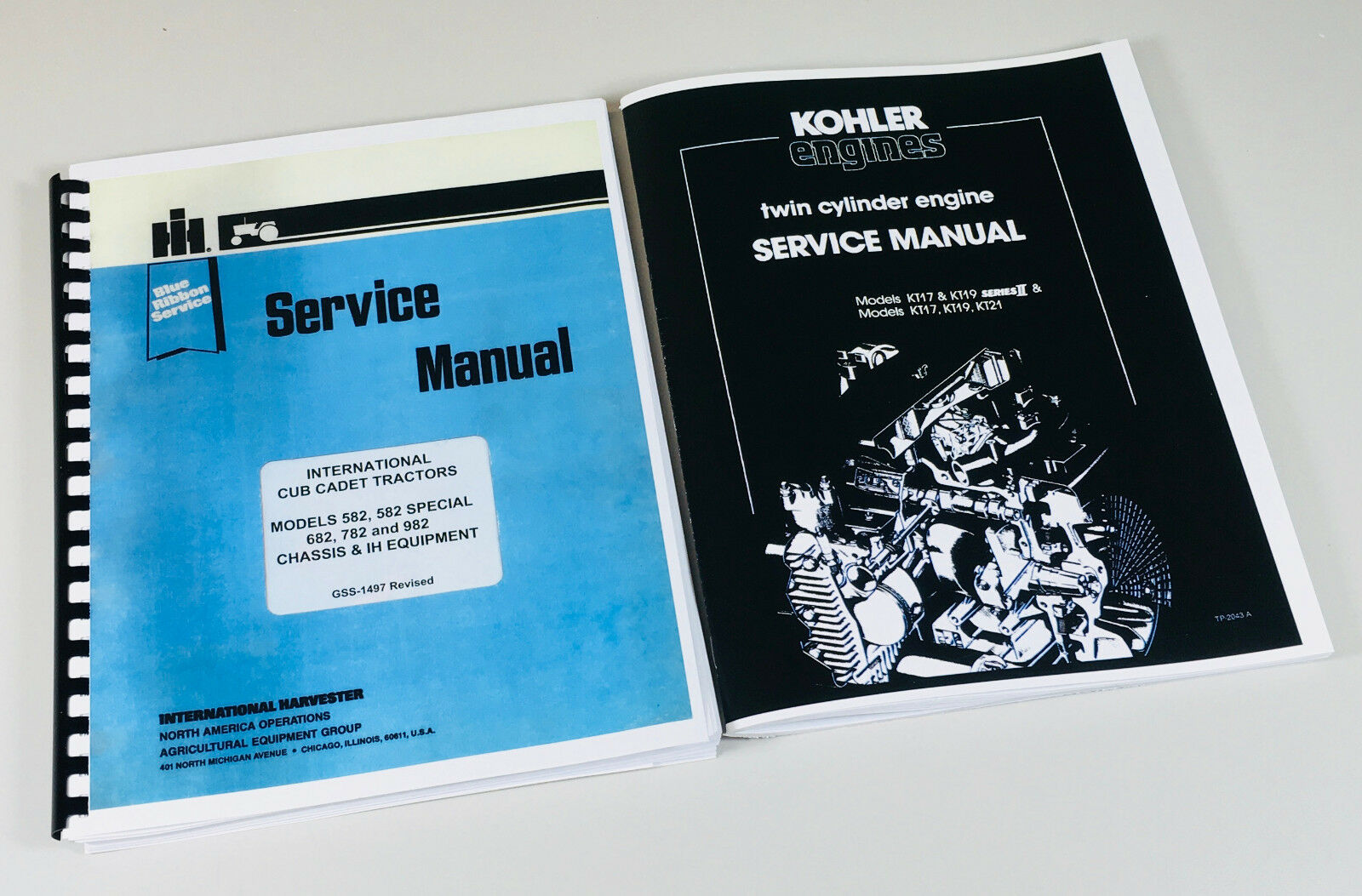 Complete Chassis Service and Engine Service Maintenance Manuals