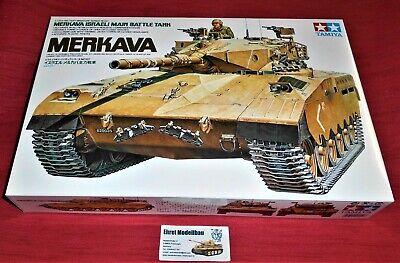 MERKAVA (1) israel main Battle Tank Panzer  in 1:35 Tamiya 35127 Neu