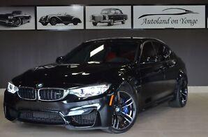 2017 BMW M3 MANUAL TRANSMISSION/RED LEATHER/NAVIGATION