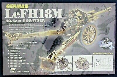 1/35 AFV Club 35S24: LeFH18m 10.5cm Howitzer