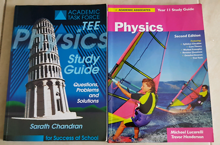 Physics Text and Revision Books Yr 11 & 12