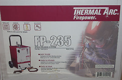 Thermal Arc Firepower 1443-0414 Ac Stick Welder Fp-235 Arc Welder 230vac