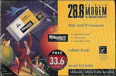 US Robotics Laptop 28.8 Megahertz PC XJACK Card Modem