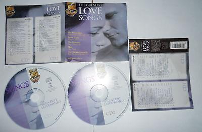 Occasion, THE GREATEST LOVE SONGS (1999 Galaxy Music 3720542) - 2 CD.. d'occasion  Expédié en Belgium