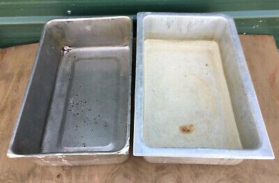 Lot 2 - Full Size 6 Deep Steam Table Water Pan Insert Food Warmer