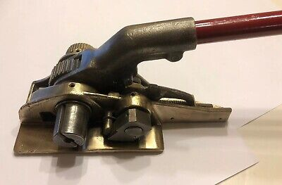 Large Signode Steel Band Strapping Tensioner