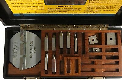 Doall Square Gage Block Accessory Set