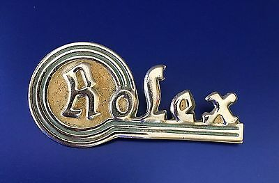 Rare & Original 1950s Enamel & Steel Rolex Dealer Display Sign