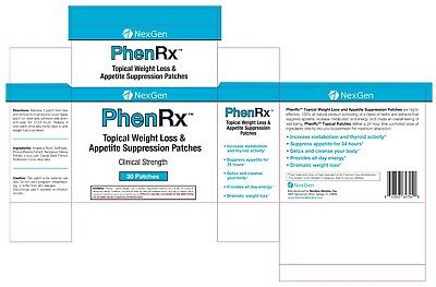 PhenRx Topical Weight Loss Patches Increase Metabolism and Thyroid Activity! 1