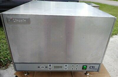 Lincoln Impinger Countertop Conveyor Oven Model 2501 208v 1-phase Ex-cond